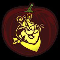 Tony the Tiger - Pumpkin Stencil