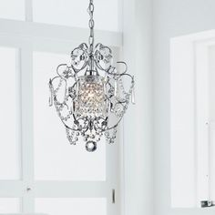 Chrome Crystal Chandelier - Free Shipping Today - Overstock.com - 12114025 - Mobile