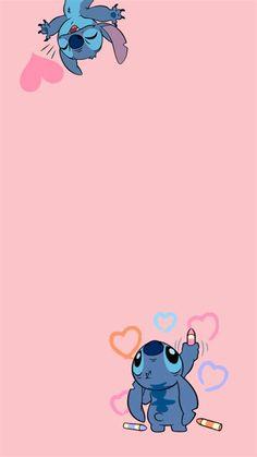 Stitch Wallpaper | Purple Wallpaper Iphone, Cartoon