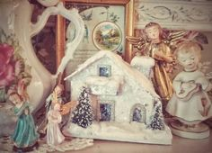 Putz, Vintage Christmas at My House, Choir of Angels...photo by Julie Cruzan