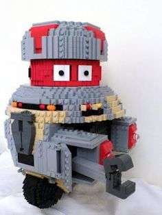 LEGO V.I.N.CENT (Vincent) robot from The Black Hole: A LEGO® creation by David Bailey : MOCpages.com