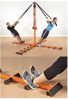 Hang Training System - Designed for use with any resistance band, as well as suspension trainers, training ropes and more!