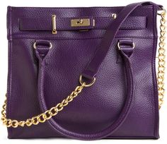 Eggplant For Every Occasion Bag - Lyst