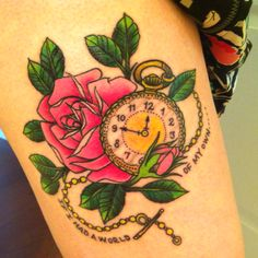 My thigh tattoo :)