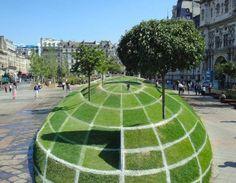 """El complemento de la arquitectura es el hombre y la naturaleza  Frases de arquitectura """"La naturaleza se hace paisaje cuando el hombre la enmarca"""" Le Corbusier"""
