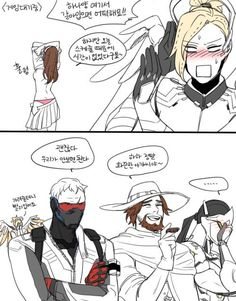 I need translations on these. This artist is amazing Overwatch Story, Overwatch Video Game, Overwatch Comic, Overwatch Memes, Overwatch Fan Art, Mortal Kombat Comics, Mundo Cruel, Jack Morrison, Soldier 76