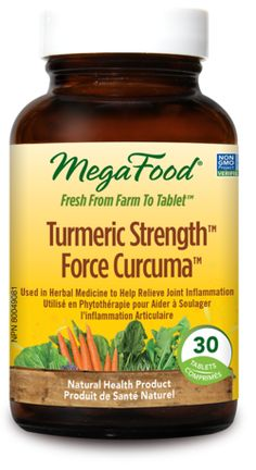 MegaFood Turmeric Strength for Joint Inflammation $33.29 - from Well.ca