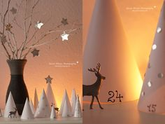 DIY: Papierwald-Adventskalender