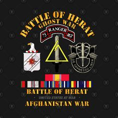 Shop Battle of Herat - Afghanistan - 2001 battle of herat afghanistan 2001 t-shirts designed by as well as other battle of herat afghanistan 2001 merchandise at TeePublic. Army Service Uniform, Airborne Army, Quds Force, America Quotes, Us Army Rangers, 75th Ranger Regiment, Us Special Forces, Calendar Organization, Military Units