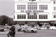 Fortes Old Steine Restaurant, Brighton, East Sussex Brighton East Sussex, Brighton Rock, Brighton England, Brighton And Hove, Old Pictures, Old Photos, Vintage Photos, Seaside Towns, Vintage Travel Posters