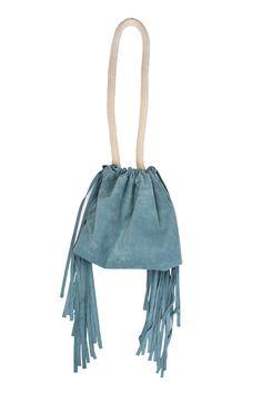 Side Fringes Pouch Bag