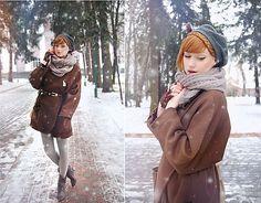 Snow fell,fell in love. (by Alina K.) http://lookbook.nu/look/1595186-Snow-fell-fell-in-love