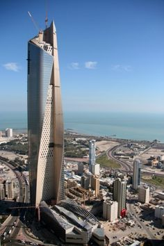 Skidmore, Owings & Merrill's (SOM) Al Hamra Firdous Tower will be the tallest building in Kuwait