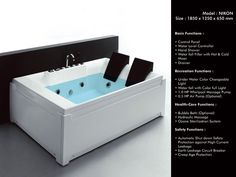 #Waterfallbathtub | #Whirlpoolbathtub | Jacuzzi bathtub | Bathtubs in india - NIKON