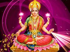 """Diosa de la fortuna """"Lakshmi"""""""
