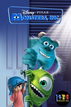 Lò đào tạo quái vật P1 Disney Pixar, Walt Disney Animation, Disney Films, Animation Movies, Disney Original Movies List, Walt Disney Animated Movies, Animated Movie Posters, Steve Buscemi, Monster Movies For Kids