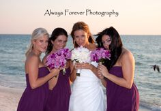 Lavender and purple wedding. Love the dendrobium orchids .