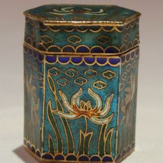 Antique Chinese Closionne Box for opiumArt, Ideas Nature , HomeMore Pins Like This At FOSTERGINGER @ Pinterest