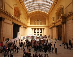 Union Station, Chicago. Spent  little time here before heading to Seattle.