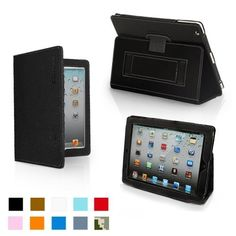 Snugg iPad 2 Leather Case Cover and Flip Stand with Elastic Hand Strap and Premium Nubuck Fibre Interior (Black) - Automatically Wakes and Puts the iPad 2 to Sleep. Superior Quality Design as Featured in GQ Magazine by Snugg, http://www.amazon.com/dp/B004QIPH5U/ref=cm_sw_r_pi_dp_4ahxrb0EFAVFG