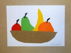 Miska s ovocem - 1. třída Still Life Art, Techno, Thanksgiving, Collage, School, Projects, Pintura, Thinking About You, Fall Season