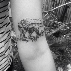 #Tattoo #Arm #Bear