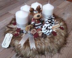 Advent, Table Decorations, Christmas, Home Decor, Manualidades, Xmas, Decoration Home, Room Decor, Navidad
