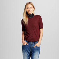 Women's Elbow Sleeve Linen Tee