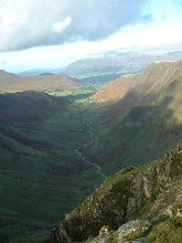 The Newlands Round - Keswick walking routes and photos of Lake District fells and mountains