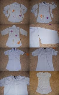 DIY Clothes DIY Refashion DIY Men's Shirt Refashion - lots of cute ideas under this link