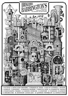 Image result for contraption illustration