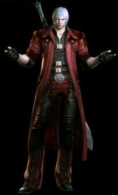 Dante - Devil May Cry-- cosplay idea for my boyfriend.