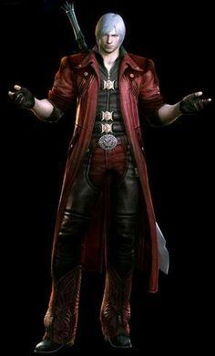 Dante - Devil May Cry-- cosplay idea for my boyfriend.