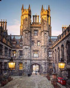 Edinburgh University, Scotland