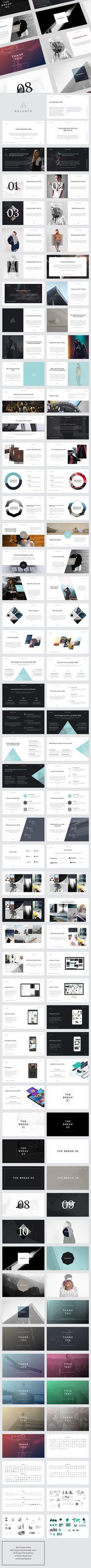 BALANCE PowerPoint Presentation Template #design #slides Download: http://graphicriver.net/item/balance-powerpoint-presentation/14417275?ref=ksioks