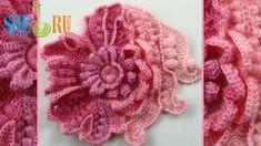 Scrumbles Freeform Crochet Tutorial 1 Part 1 of 2 Freeform Crochet Series
