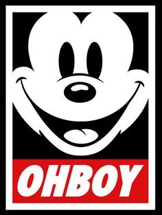 oh boy! Mickey Mouse
