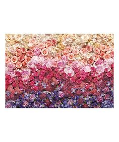 Look what I found on #zulily! Intense Rose Wall Mural #zulilyfinds