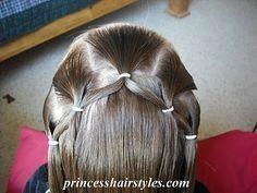 Flower Girl Hairstyle, Frisuren, Hairstyles For Girls - Hair Styles - Braiding - Princess Hairstyles. Girls Hairdos, Flower Girl Hairstyles, Princess Hairstyles, Little Girl Hairstyles, Cute Hairstyles, Braided Hairstyles, Children Hairstyles, Modern Hairstyles, Toddler Hairstyles