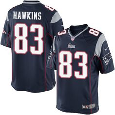 333f2359f7e Nike Limited Lavelle Hawkins Navy Blue Men's Jersey - New England Patriots  #83 NFL Home