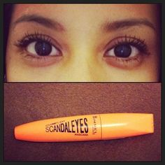 today's mascara ☺ #rimmellondon #volumeflash #scandaleyesmascara #mascara #make-up #beauty