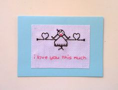 I Love You this much Card. I love you card. by benedettacraftyshop, $6.30 #valentinesday #valentine #love #handmade #loveisintheair #eternallove