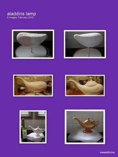 Aladdin Lamp tutorials