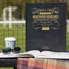 This Personalised Peterborough History Book is the perfect gift for any fan of the club. The book 'kicks off' with the earliest newspaper reports, covering their most memorable games and star players, leading right up until last season. See below for why the History of Peterborough FC Book is the ultimate piece of memorabilia that will instantly become a treasured keepsake.