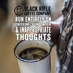 Black Rifle Coffee Company is a SOF veteran owned, small batch, roast to order coffee company. BRCC delivers the finest coffee on the planet to our customers.