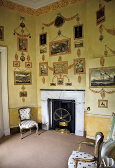 Traditional Office/Library in East Lothian, Scotland