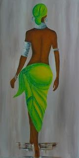 Black Girl Art, Art Girl, Drawing Sketches, Art Drawings, Afrique Art, African Art Paintings, Black Artwork, Afro Art, African American Art