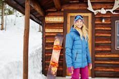 Smiles and snowfalls with Torah Bright #ROXYsnow