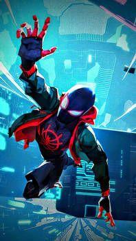 Miles morales en spiderman un nuevo universo by livais46 on DeviantArt