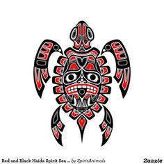 Resultado de imagen para haida turtle tattoo